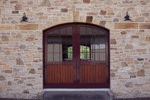 Exterior Stall Doors Typically Consist Of A Sliding Or Hinged Door Located In The Back Each Opens Up To Outside Barn
