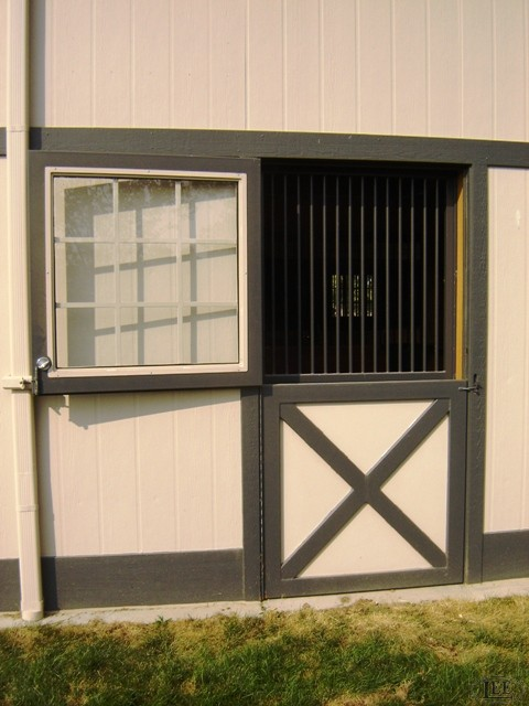 In addition to custom dutch doors we also are suppliers of aluminum exterior barn doors! Our exterior barn doors can me made in both heavy duty steel and aluminum