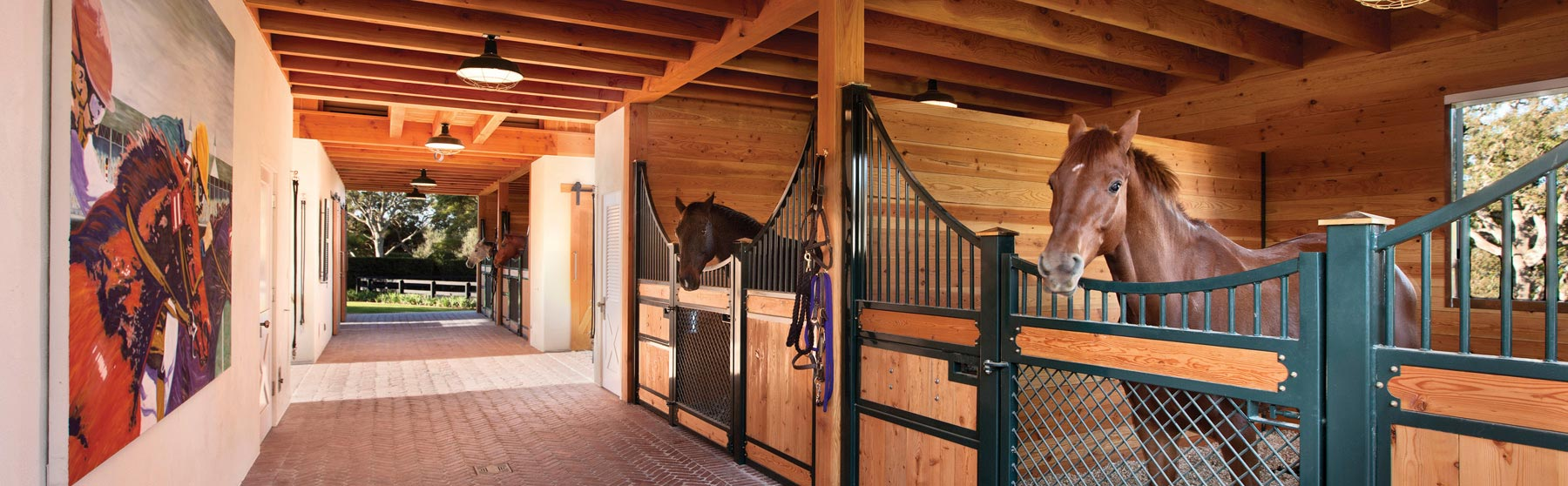 Lucas Equine Equipment & Horse Stalls - Barn Doors - Stall Fronts - Equine Equipment