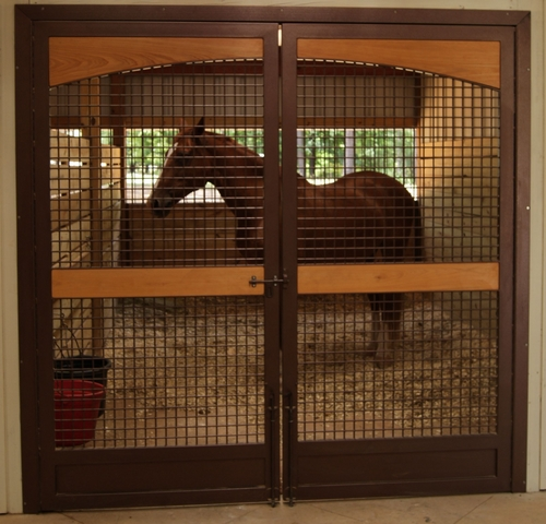 Located in Cynthiana, Lucas Equine is a fully equipped custom manufacturer of horse barn stalls, doors, gates and more.