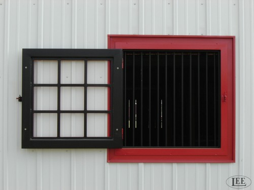 Lucas Equine Equipment is committed to building custom barn windows superior to anything else on the market today.