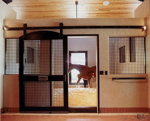 For over 38 years, Lucas Equine Equipment has been designing custom horse stall doors of the highest quality.