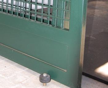 & Stay Roll Door Guide Floor Mounted